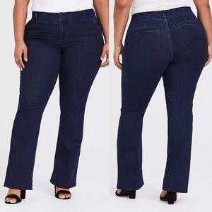 Torrid Boot Cut Slim Trouser Jean Size 24XT